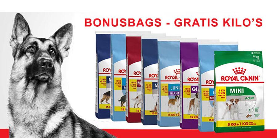 royal canin bonus bags
