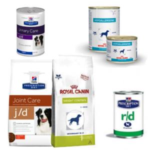 Alimentation diététique pour chien
