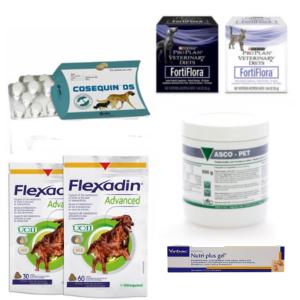 Suppléments nutritionnels pour chiens
