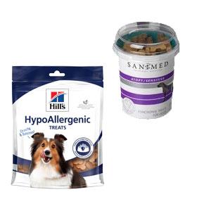 Hypoallergene snacks